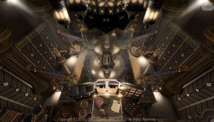Steam punk style laboratory | FFXIV decore | Steampunk