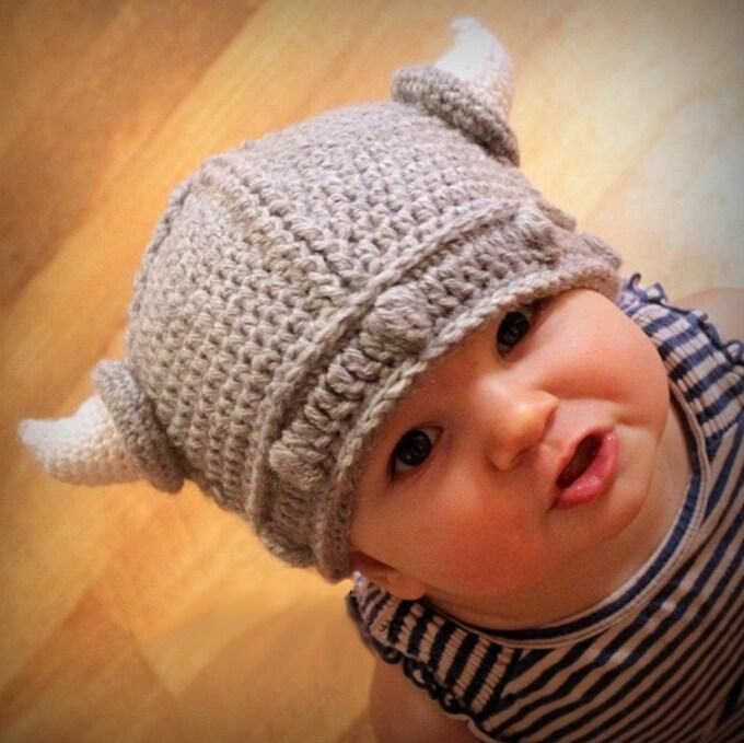 45e9e5e9fcb Best Cute Baby Horn Hat Crochet Kids Boy Girl Knit Cow Cartoon Hats Cap  Children Winter Warm Gray Caps Photography Cosplay Props Gifts Under  4.72