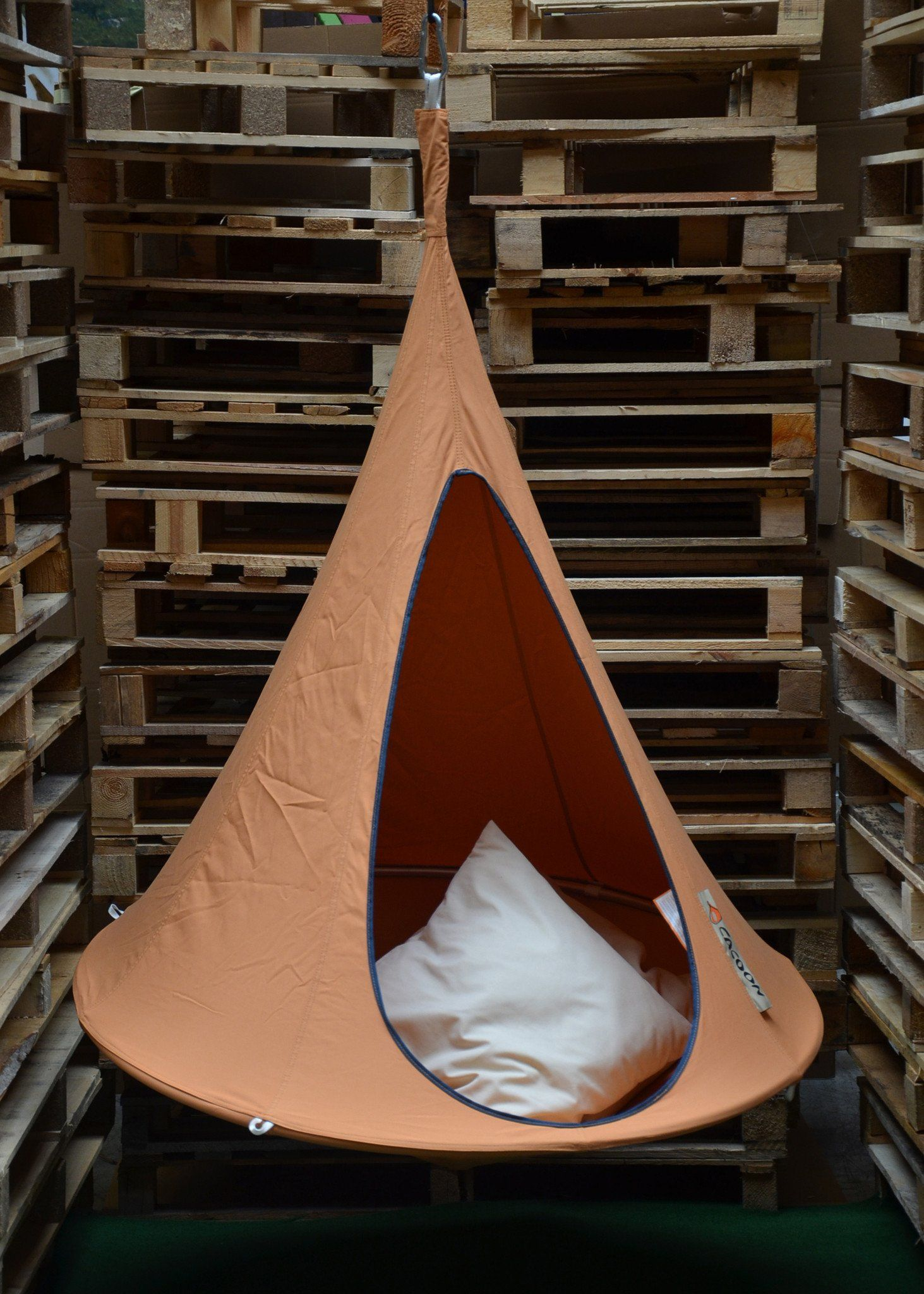Cacoon bonsai hammock orange mango hanging tent