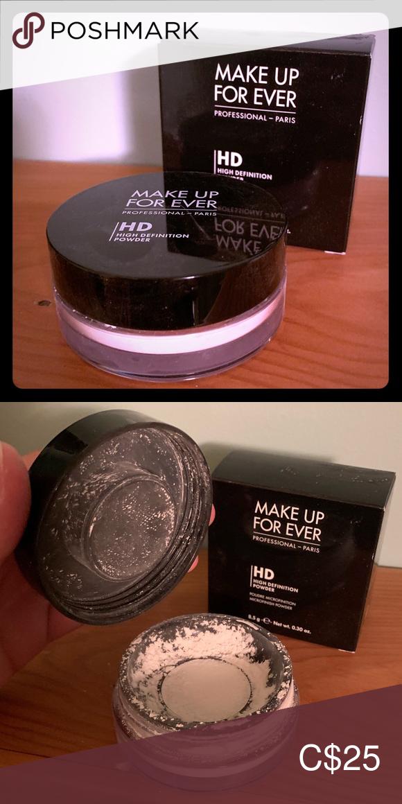 Makeup Forever Hd Loose Setting Powder Setting Powder Makeup Forever Hd Makeup Forever