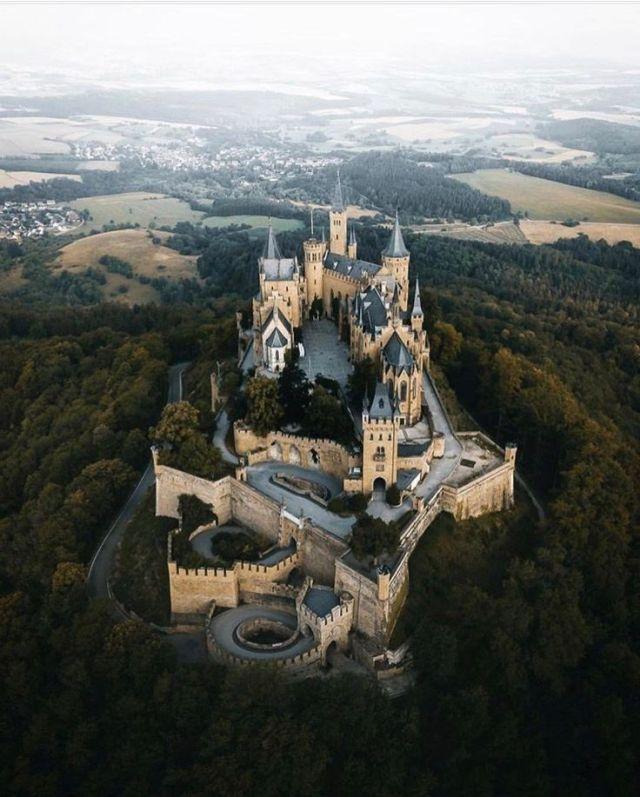 Burg Hohenzollern Deutschland Deutschland Hohenzollern Hohenzollern Castle Castle Germany Castles