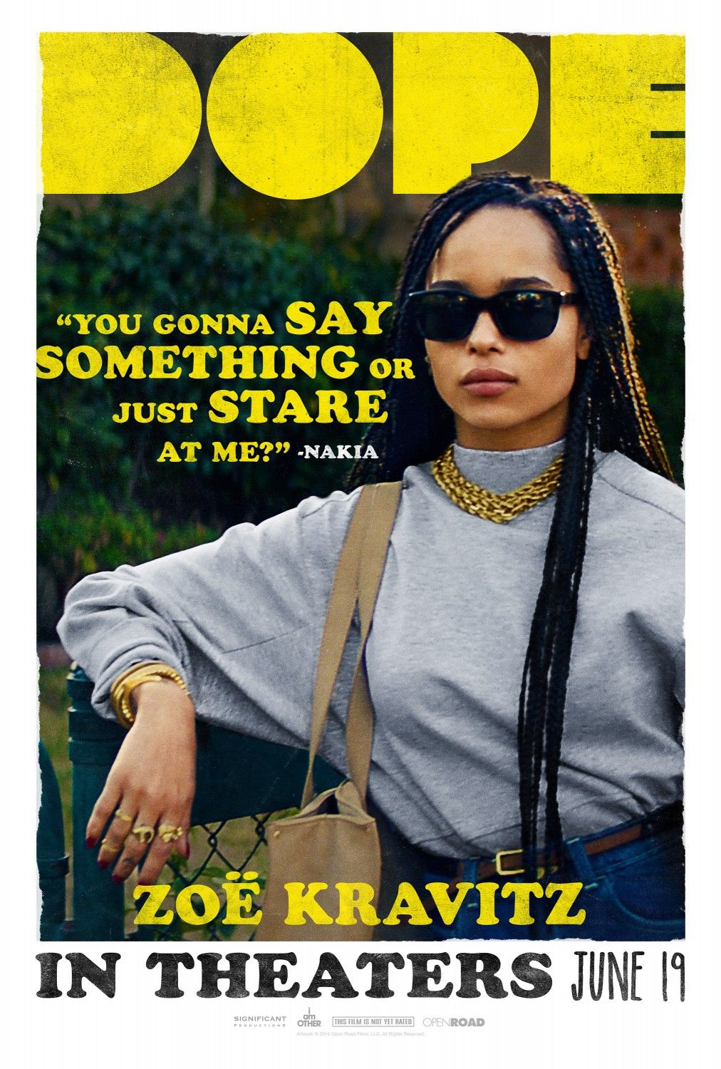 dope trailers clips and posters posters pinterest zoe kravitz