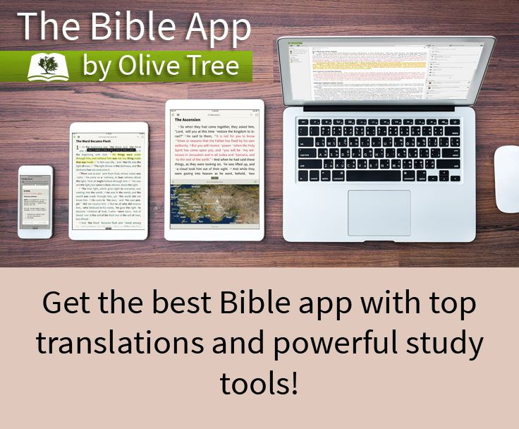 Download the app FREE for your favorite device! Bible