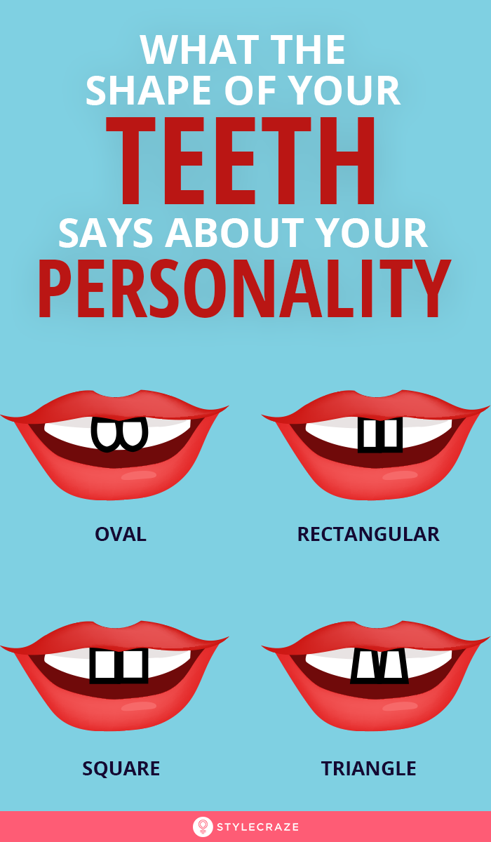 What The Shape Of Your Teeth Says About Your Perso