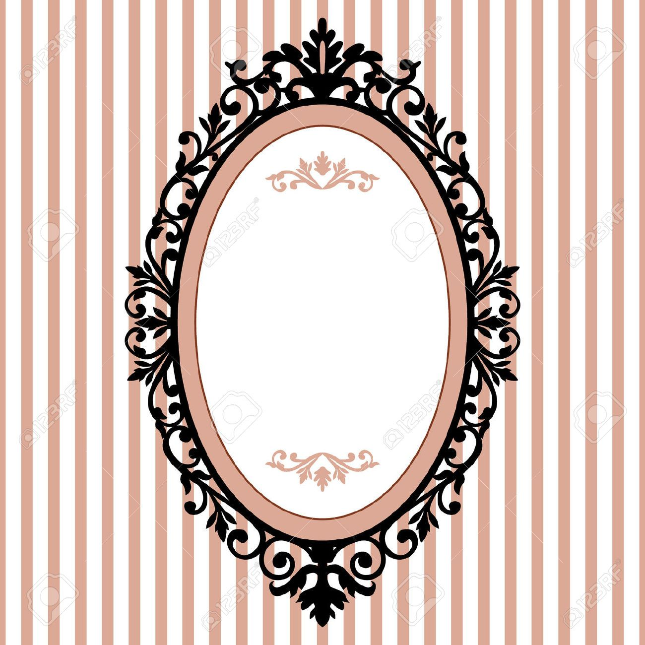 8160545-Decorative-oval-vintage-frame-Stock-Vector-victorian.jpg ...
