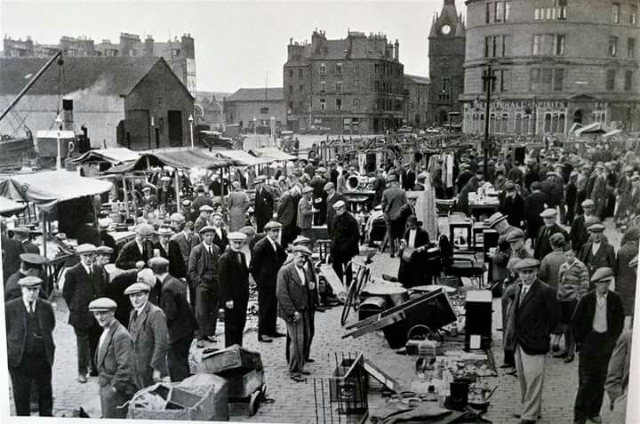 Green Market Shore Terrace Dundee City Dundee Travel Pictures
