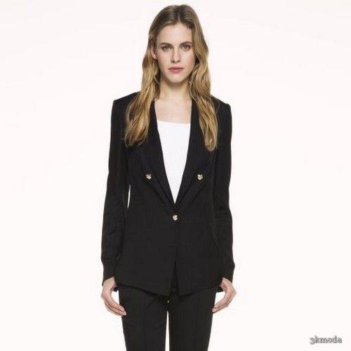 Awesome Ipekyol Bayan Ceket Modelleri Siyah Ceketler Moda Stilleri Moda