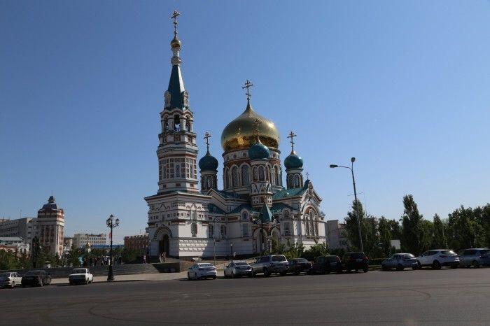 Cathédrale de la Dormition à Omsk #instantVDS16