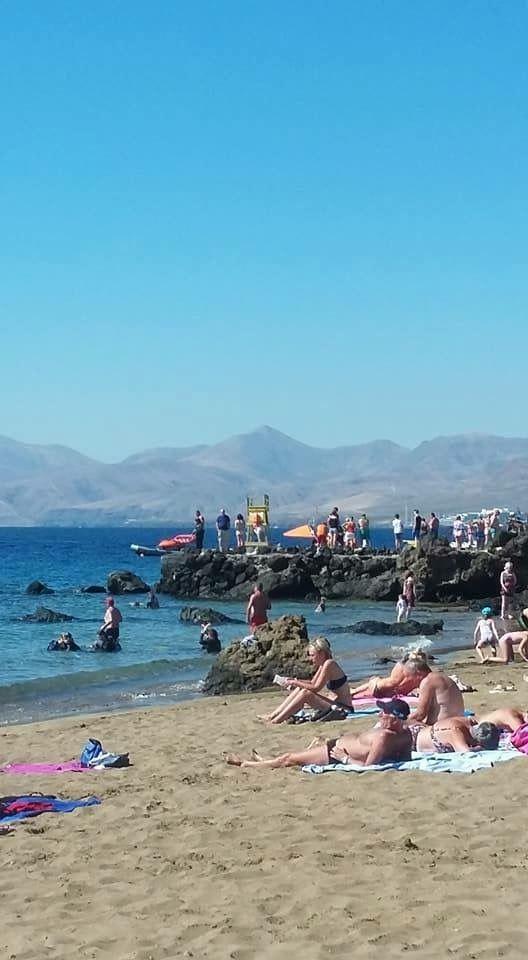 Playa Chica Lanzarote Spain