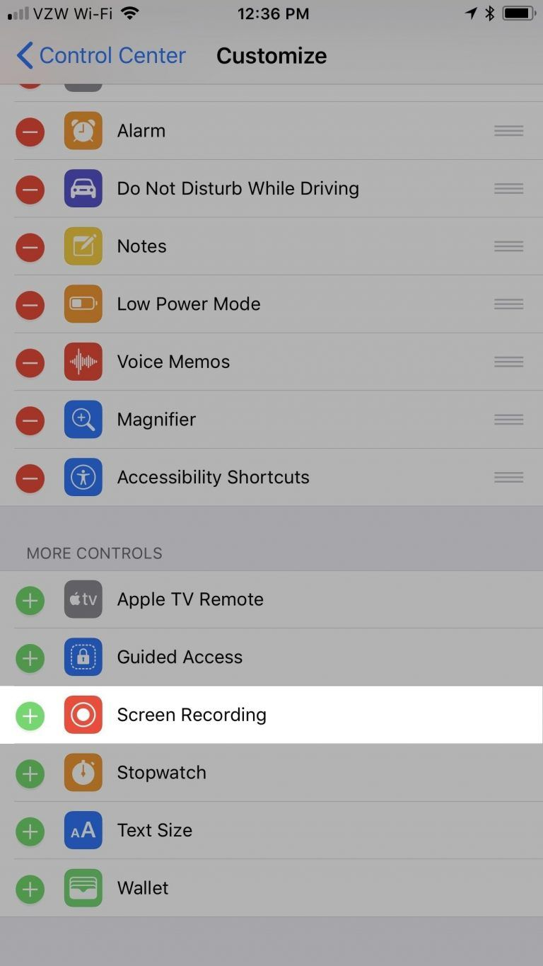 How To Screen Record Netflix On Iphone Ios 12