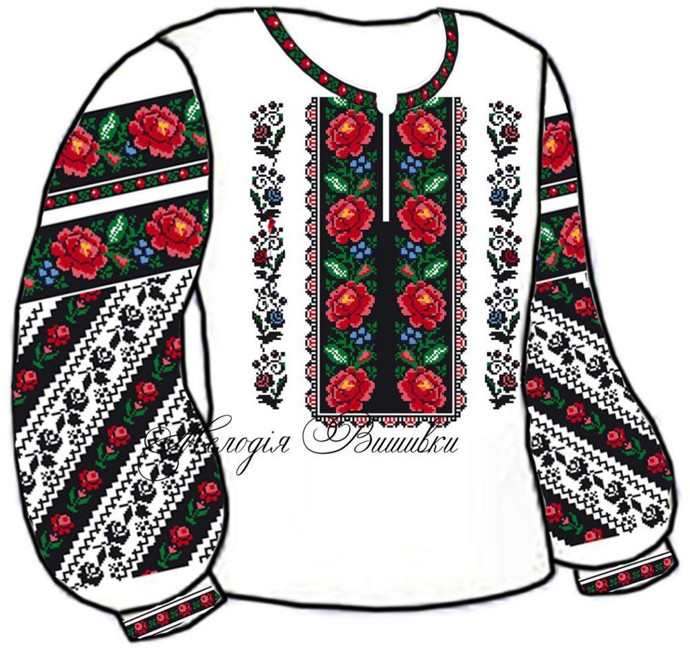 Заготовка для вишивки жіночої сорочки (СЖ-71) 55a02527dcc8d