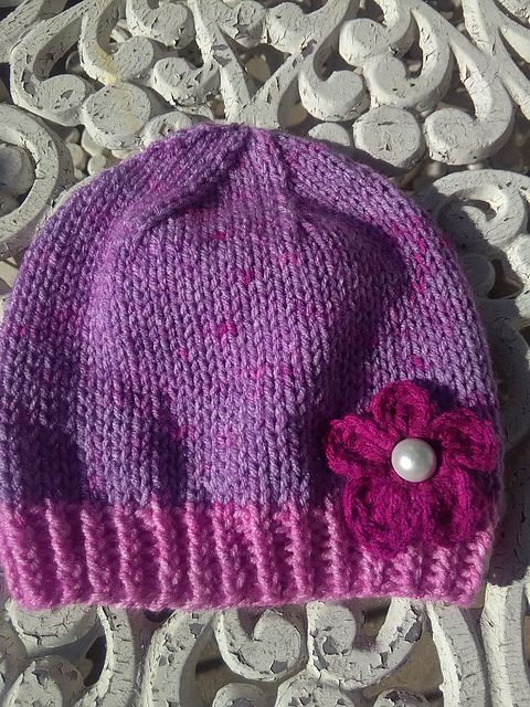 Ravelry: Easy and Basic Baby Hat pattern by Christy Hills ...