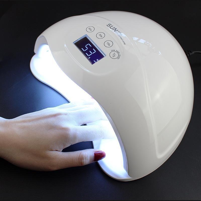 48w Dual Led Nail Dryer Uv Lamp Nail Dryer Gel Polish Nail Dryer