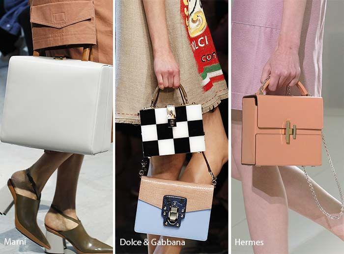Spring/ Summer 2017 Handbag Trends: Square Box Bags