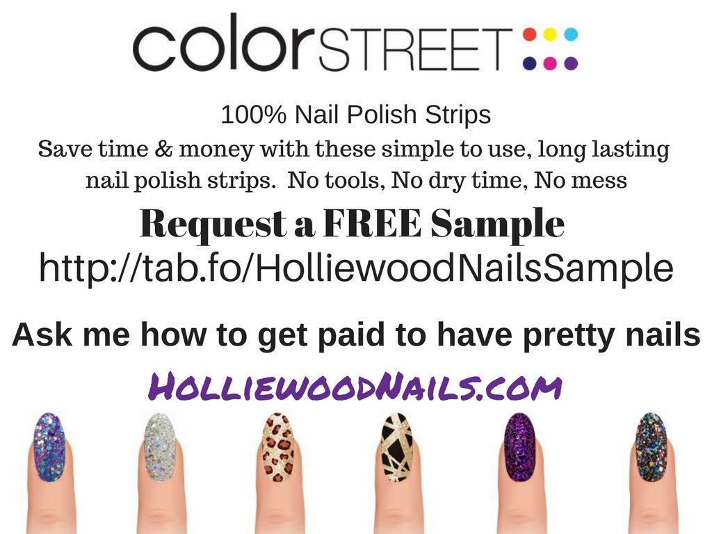 If you haven\'t tried Color Street yet, get your FREE sample TODAY ...