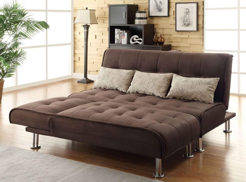 Coaster 300276 Sofa Bed Brown