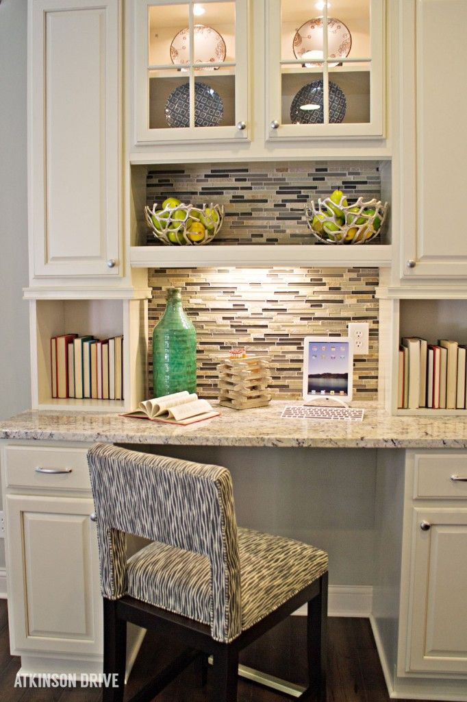 kitchen office nook. Home-a-Rama 2014: Family Command Center In The Kitchen | Atkinson Drive Office Nook M