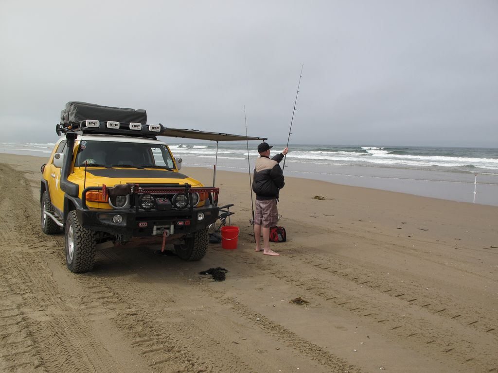 Jeeps rigged for surf fishing gallery diagram writing for Best fishing time today