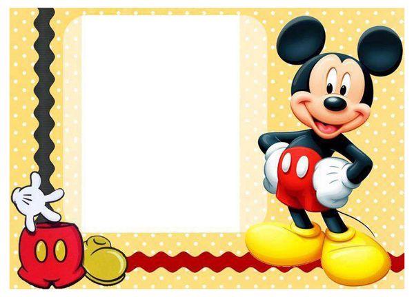 Tarjetas Invitaciones De Cumpleaños Listas Para Imprimir