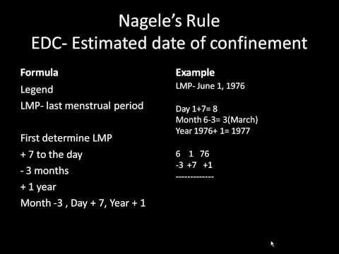 Naegeleu0027s Rule   Naegele Rule U2013 Dictionary Definition Of Naegele Rule    Encyclopedia .