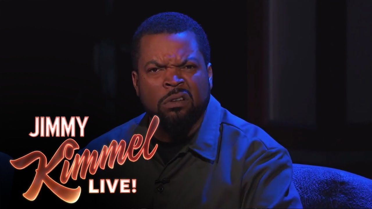 Ice Cube Says Nice Things Angrily Hip hop and r&b