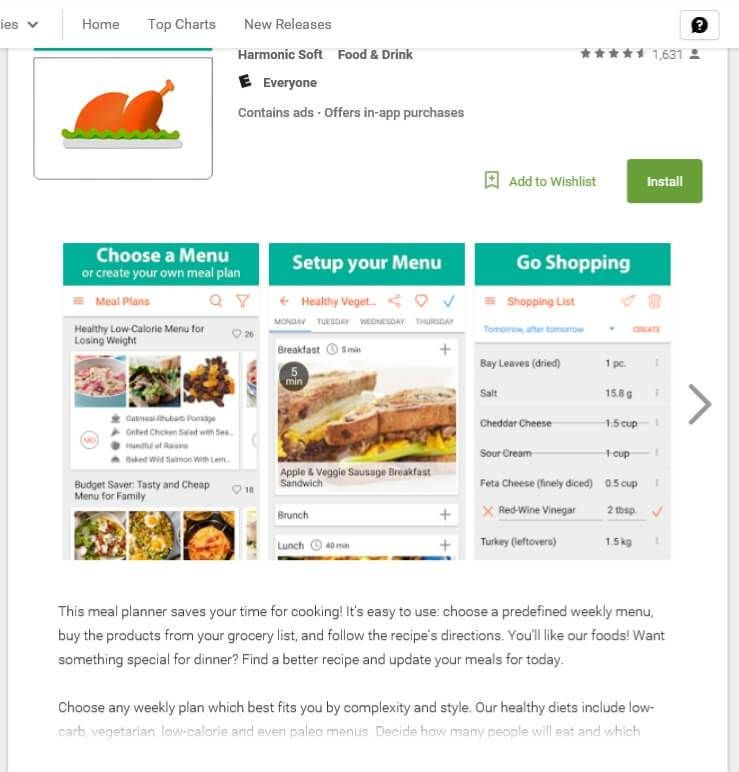 Meal Planner App review + 50 Amazon Gift Card Giveaway
