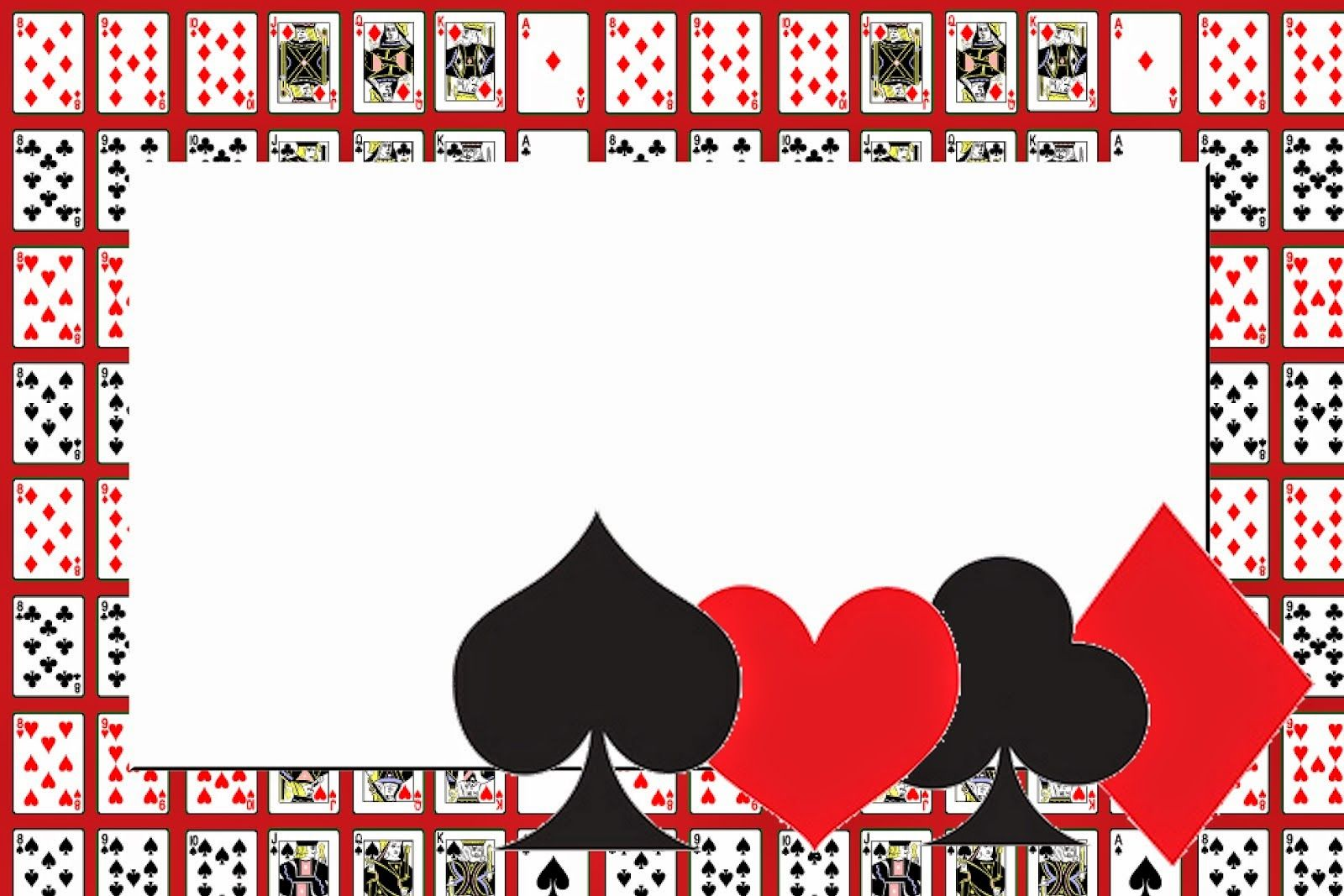 Oh My Fiesta! in english: Poker: Free Printable Invitations and