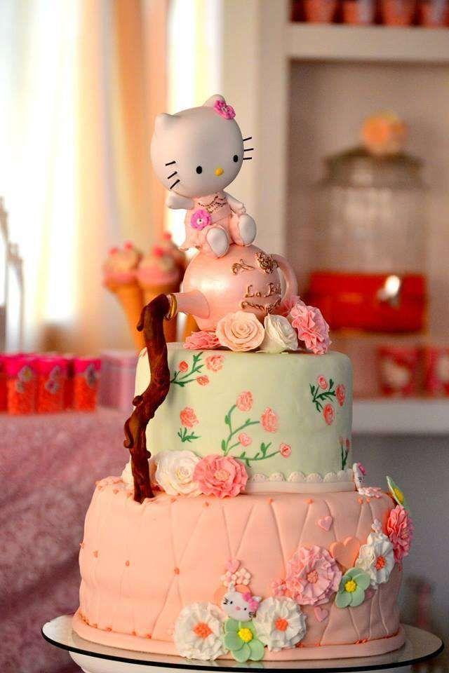 Hello Kitty Birthday Party Ideas Hello Kitty Birthday Cake