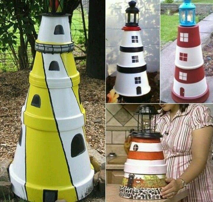 Clay Pot Lighthouse, Clay Pot