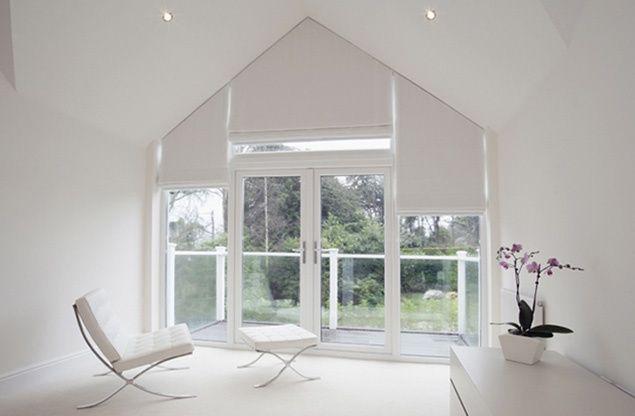 Картинки по запросу Curtains For Triangular Windows
