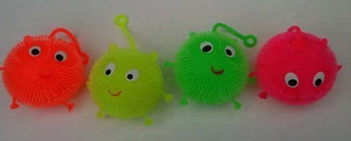 Squishy Lightup Yoyo Animal Set Of Four One Of Each Color Mazaa