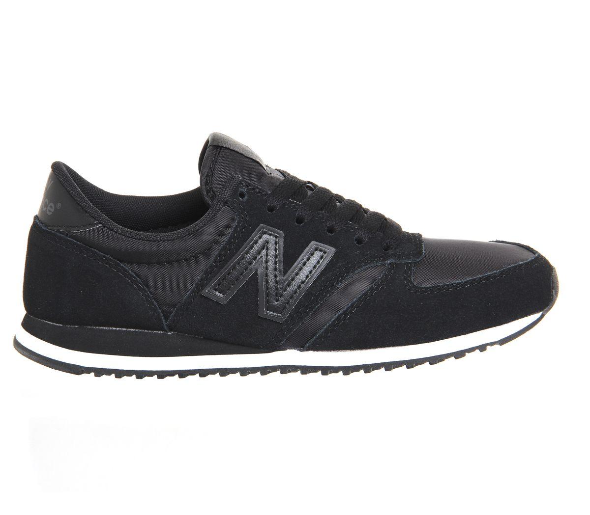 new balance u420 trainers black white