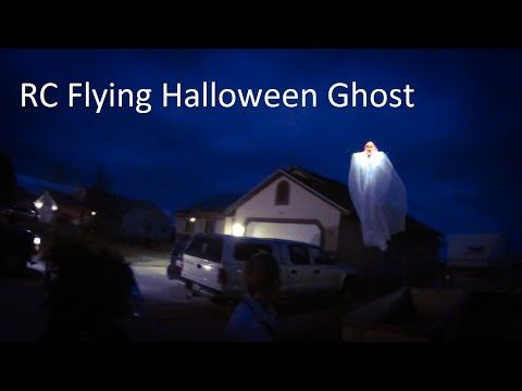 RC Halloween Flying Ghost Tricopter Quadcopter Drone - YouTube - how to make halloween decorations youtube