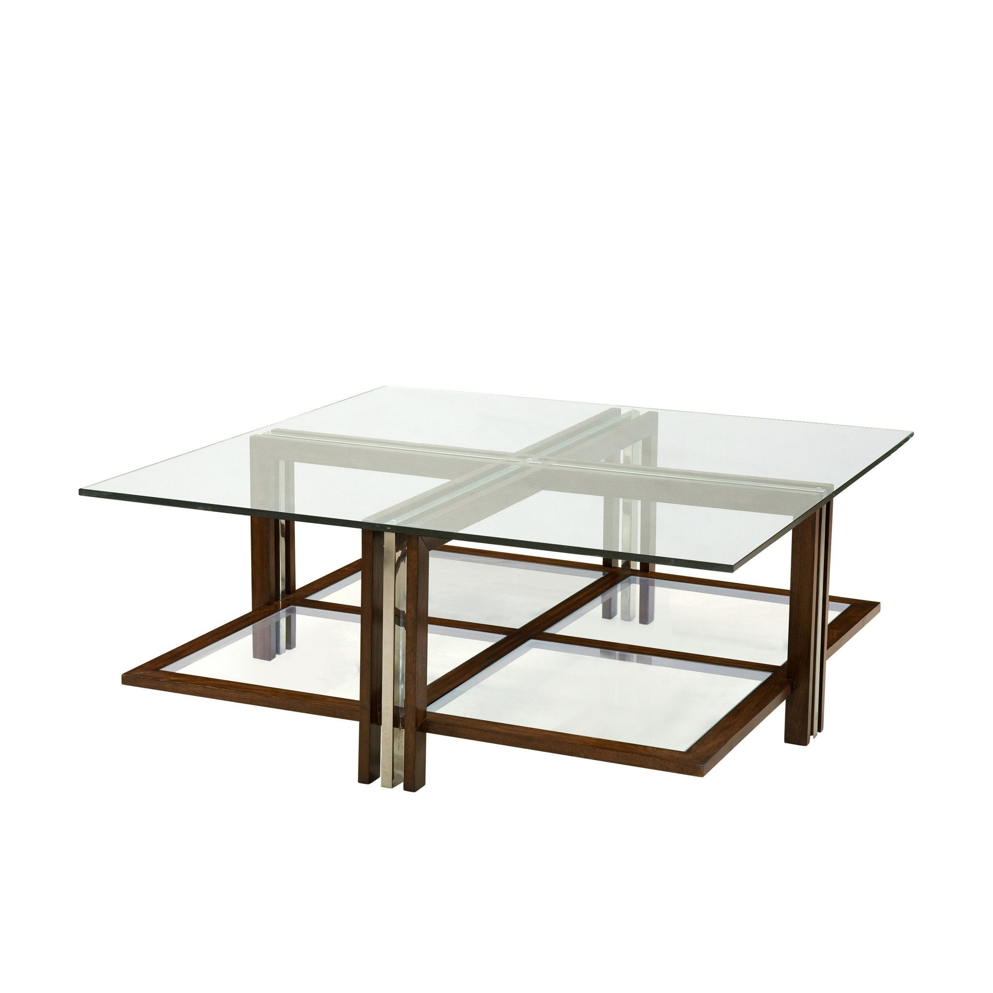 Modern Maple Steel And Glass Cocktail Table Products Pinterest - Maple and glass coffee table