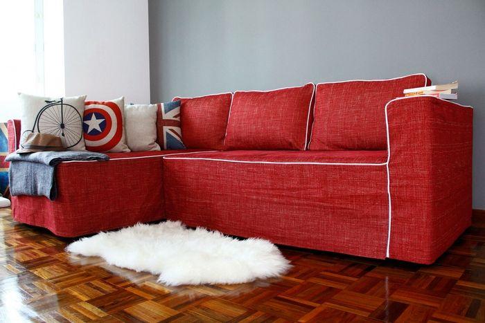 Ikea Sofa Bed Friheten With Added Dec Pillows My Ikea