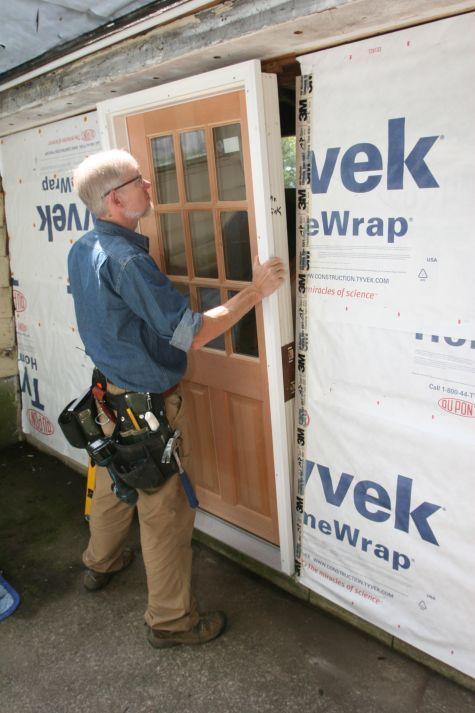 how to replace a prehung exterior door