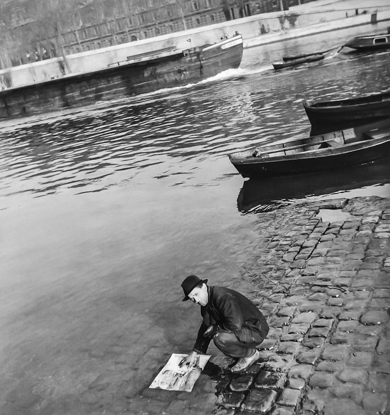 Robert Doisneau   //  Maurice Duval, Paris,1948