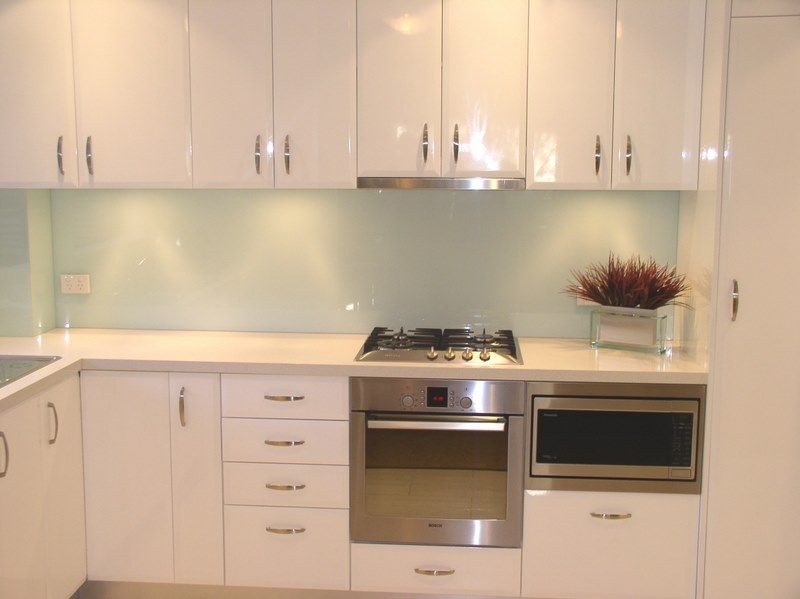 Glass Splashback Love This Light Mint Colour The Best
