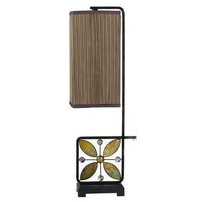 """Cal Lighting Matera Buffet 30.25"""" H Table Lamp with Rectangular Shade"""