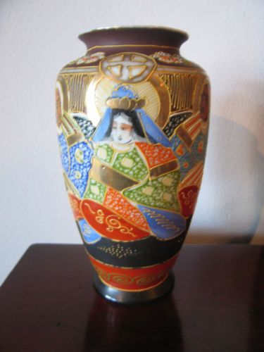 Antique/vintage Chinese Jar/pot Rare Fancy Colours Asian Antiques China