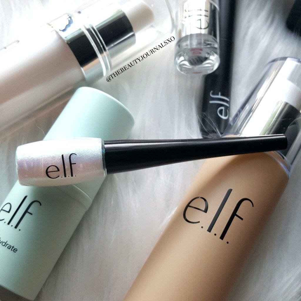 ELF Makeup Haul and Reviews Glitter eyeliner, Eyeliner