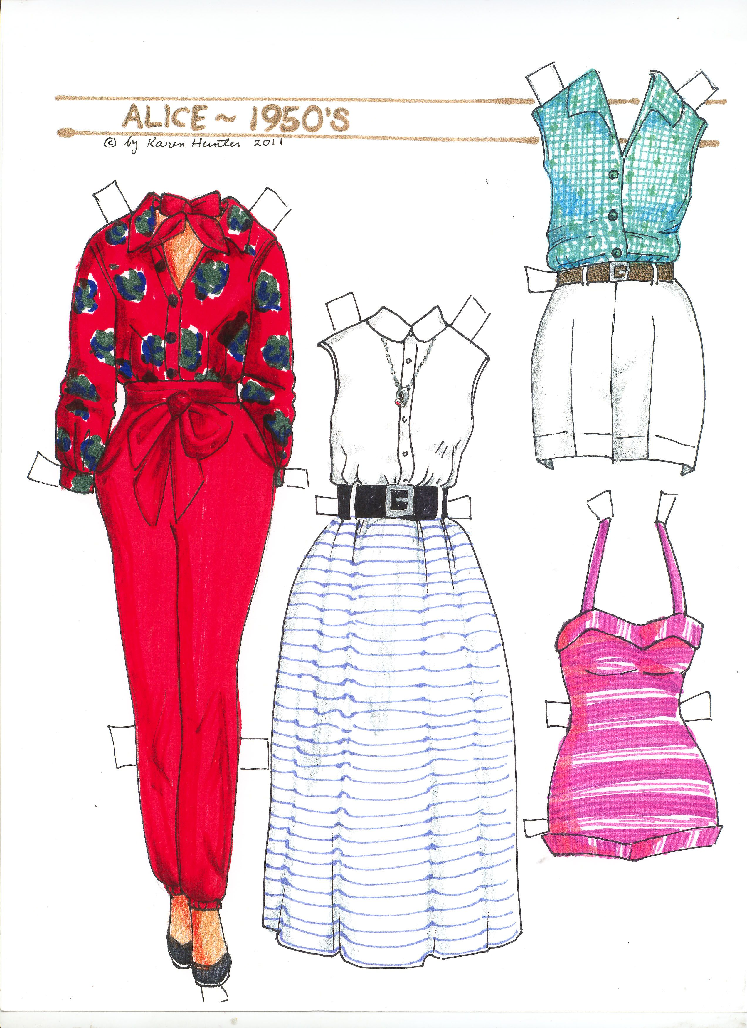 Pin On Paper Dolls A Look At History And Fun