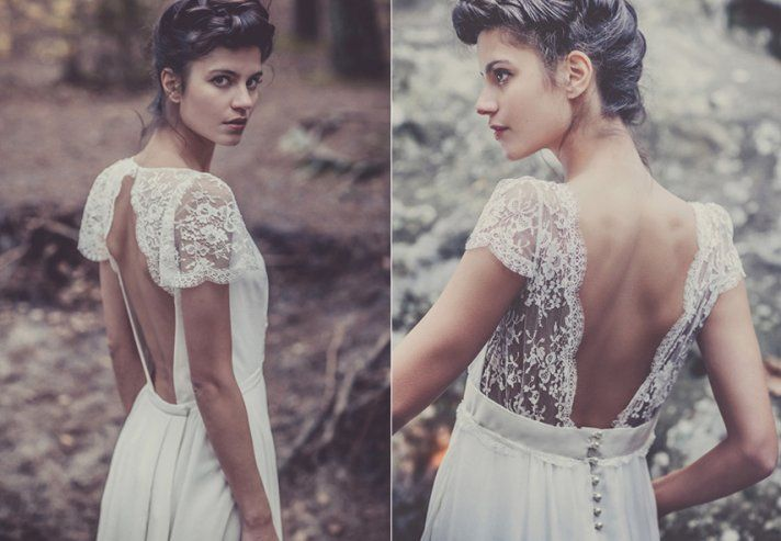 Laure De Sagazan Wedding Dress French Bridal Designers 2