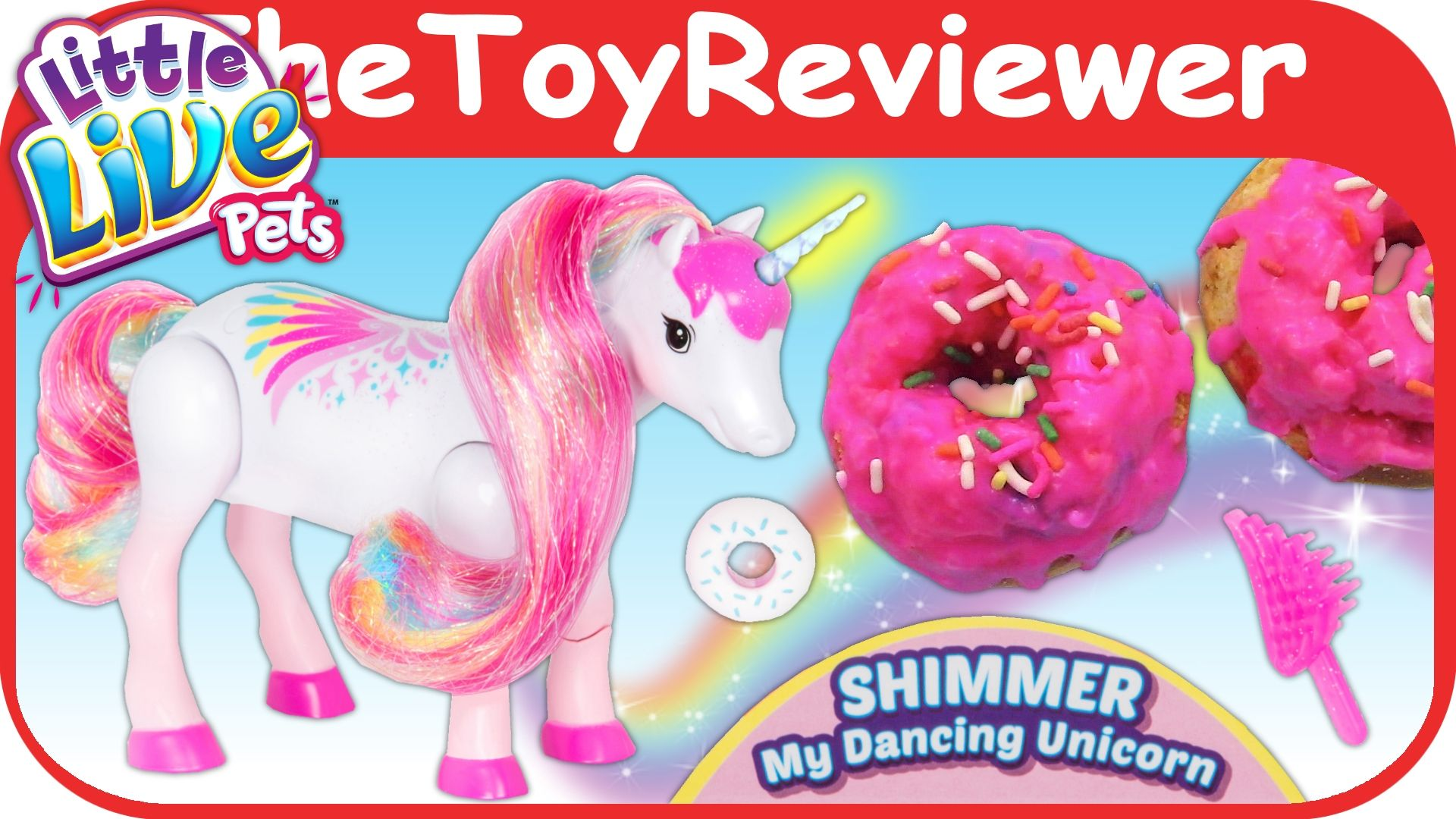 Little Live Pets Shimmer My Dancing Unicorn Little live