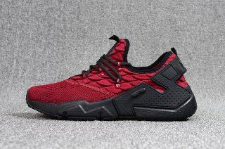 a26397664aa2 Humanized Nike Air Huarache Drift Prm Flyknit Burgundy Black Men s Footwear  Running Shoes