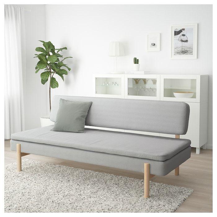 Ypperlig 3er Bettsofa Orrsta Hellgrau Ikea Slaapbank Meubel Ideeen Ikea