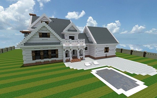 Georgian Home Minecraft House Design Build Ideas 3 Modern Minecraft Houses Minecraft House Designs Minecraft House Tutorials House design tips minecraft