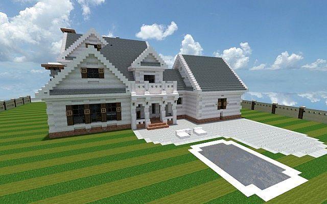 Georgian Home Minecraft House Design Build Ideas 3 Minecraft House Designs Modern Minecraft Houses Minecraft House Tutorials