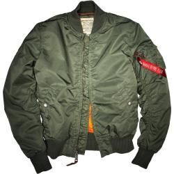 nylon jackets -  Alpha Industries Ma-1 Vf 59 Jacket Green L Alpha Industries Inc.Alpha Industries Inc.  - #clothesformenstyle #fitnessclothesformen #jackets #nylon
