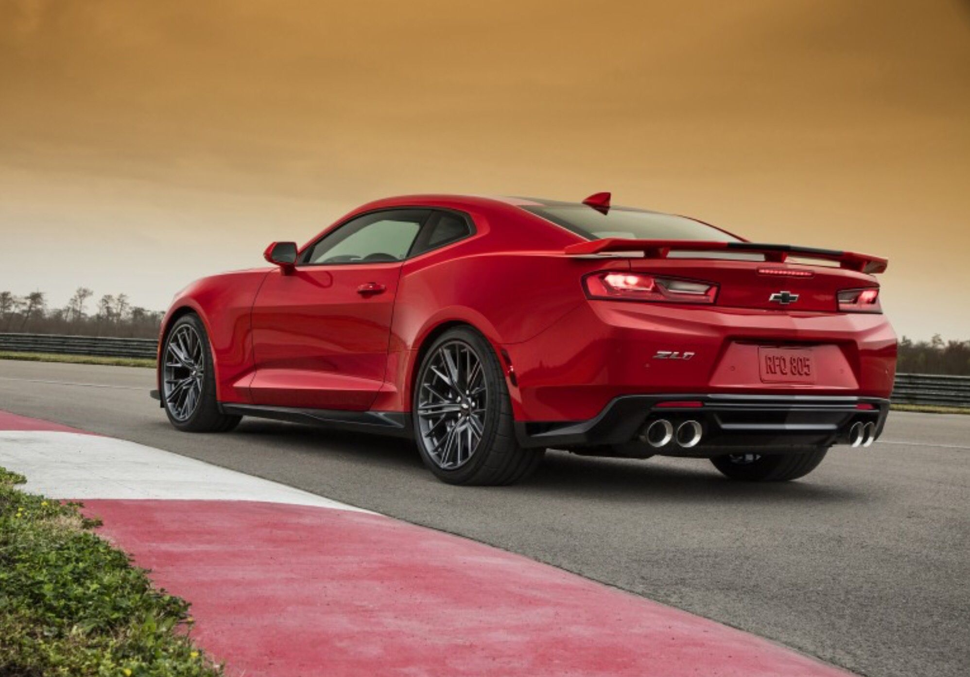 2017 Camaro ZL1 Supercharged 6.2L LT4 Small Block V8 - 640 hp - 640 lb-ft of torque